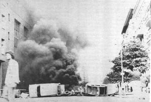 80er barri brennt